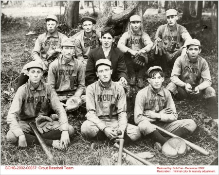 Grout Baseball Team 1904